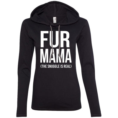 Fur Mama The Snuggle Is Real T-Shirt Hoodie