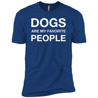 Dogs Are My Favorite People Premium Tee