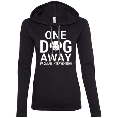 One Dog Away From An Intervention T-Shirt Hoodie