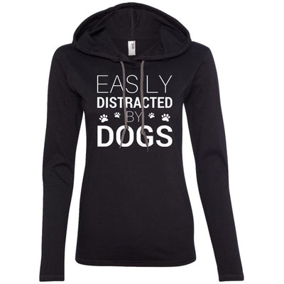 Easily Distracted By Dogs T-Shirt Hoodie