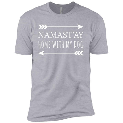Namastay Home With My Dog Premium Tee