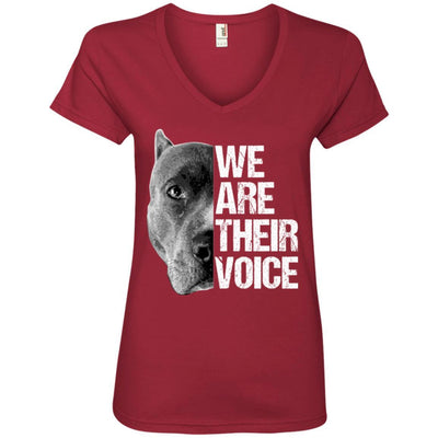 We Are Their Voice V-Neck Tee