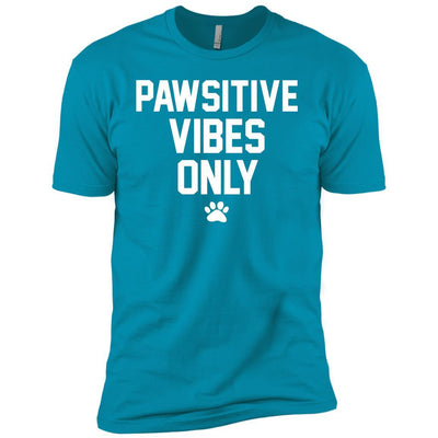 Pawsitive Vibes Only Premium Tee