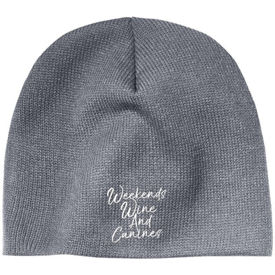 Weekends, Wine And Canines Classic Beanie