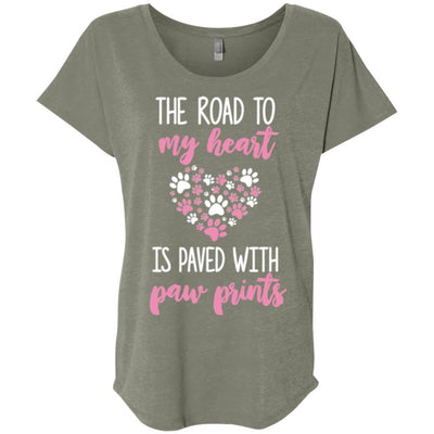The Road To My Heart Slouchy Tee