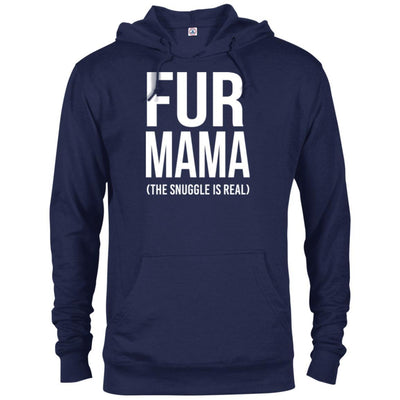 Fur Mama The Snuggle Is Real French Terry Hoodie