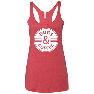 Dogs & Coffee Triblend Tank