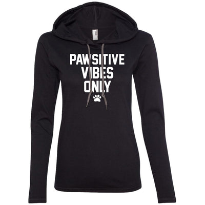 Pawsitive Vibes Only T-Shirt Hoodie