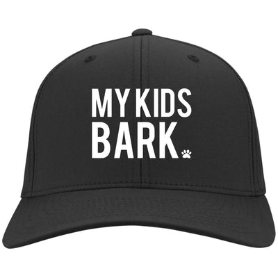 My Kids Bark Hat Twill Cap