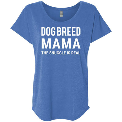 Personalized (Breed) Fur Mama Slouchy Tee