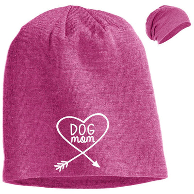 Dog Mom Slouchy Beanie