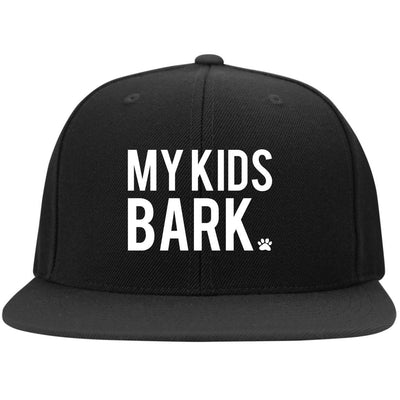 My Kids Bark Hat Snapback Hat
