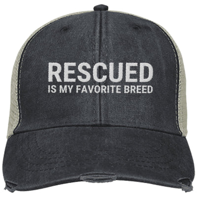 Rescued Is My Favorite Breed Trucker Cap