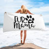 Fur Mama Beach Towel