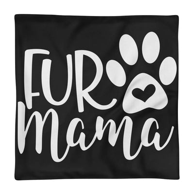 Fur Mama Black Premium Pillow Case
