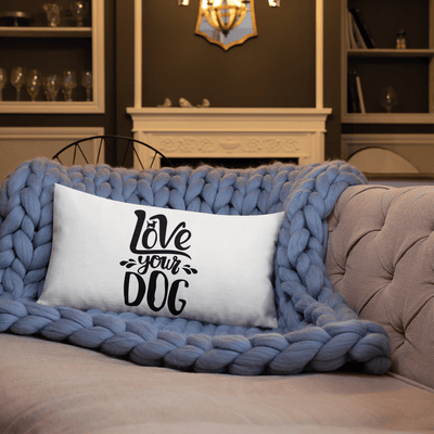 Love Your Dog Premium Pillow