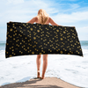 Golden Paws Beach Towel