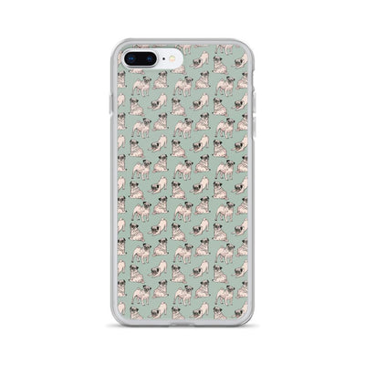 Yoga Pugs iPhone Case