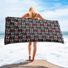 Dog Crazy Beach Towel