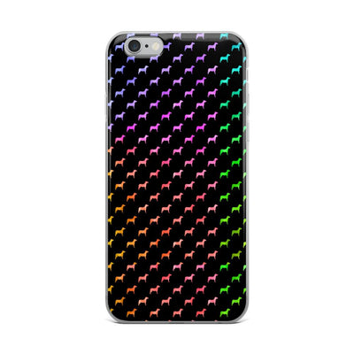 Rainbow Dog iPhone Case