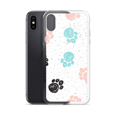 Painted Paws iPhone Case