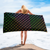 Rainbow Dogs Beach Towel