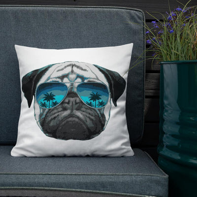 Hollywood Pug Premium Pillow