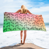 Yoga Dog Beach Towel