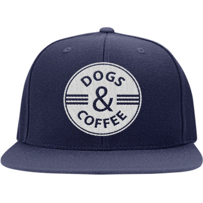 Dogs & Coffee Snapback Hat