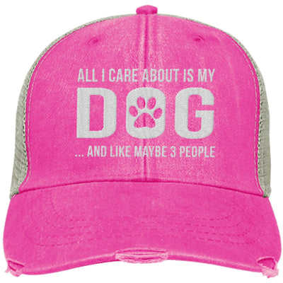 All I Care About Is My Dog Trucker Cap