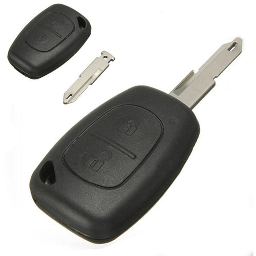 Vauxhall Movano Vivaro 2 Button Remote Key Fob