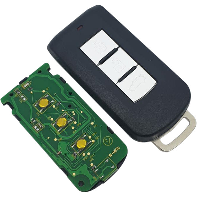 Mitsubishi Outlander 3 Button Keyless Smart Remote key 2012-15