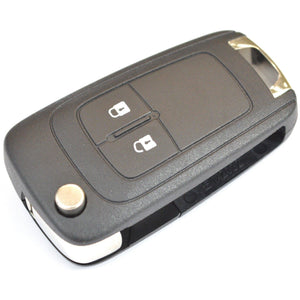 Opel Vauxhall Adam Corsa Zafira C 2 button Flip Remote Key Fob (Genuine)