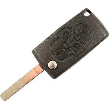 Citroen C8 / Peugeot 806 4 button Remote Key - ID46