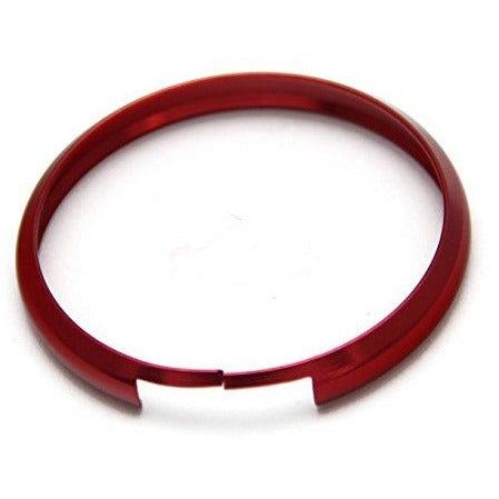 BMW Mini Clubman Coupe Key Remote Fob Aluminium Trim Ring RED