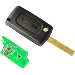 Citroen 2 Button Remote Key ID46
