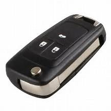 Vauxhall Insignia Astra J Flip 3 button remote key ID46 CHIP (Genuine) 5WK50079