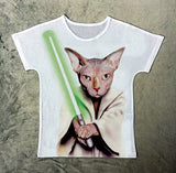CatYoda - women's t-shirt