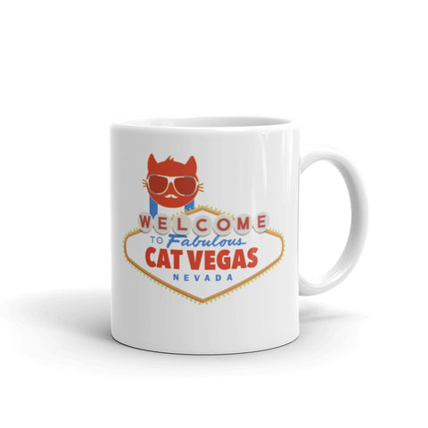Cat Vegas - coffee mug