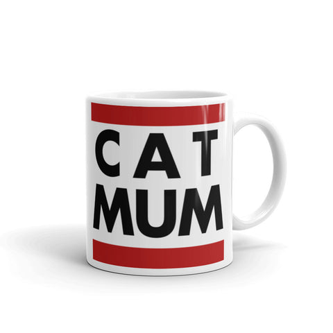 Cat Mum - coffee mug