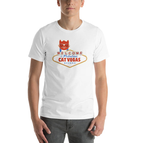 Cat Vegas - t-shirt