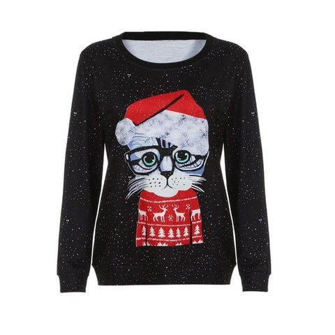 Cat-essor - oversized xmas sweater