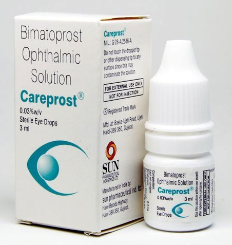 Buy Careprost .03% 3ml for eyelash and glaucoma