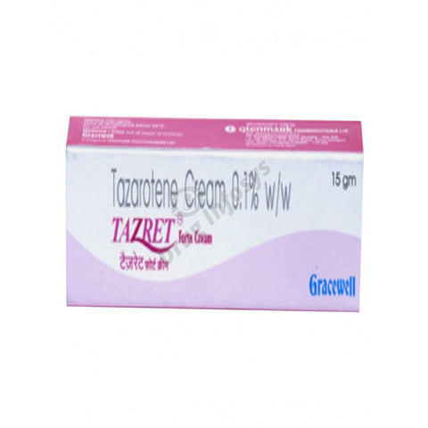 Tazret Forte Cream 0.1% 20gm