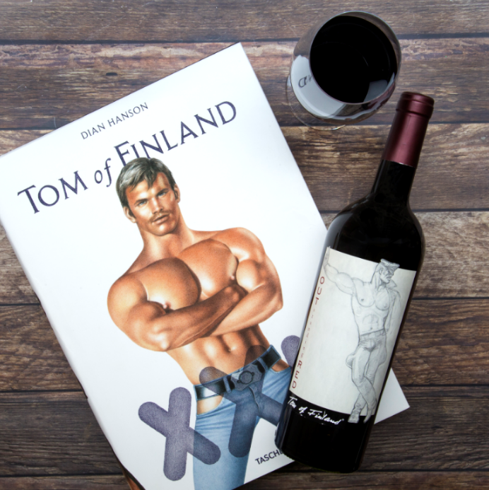 A portion of our proceeds support the Tom of Finland Foundation,which promotes human rights and sexual expression through art.