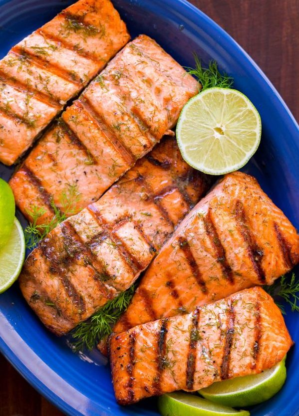 How To Make A Perfect Grilled Salmon | With Garlic and Lime | Paleo Diet