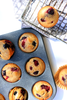 Gluten-Free Healthy Berry Vanilla Oatmeal Muffins