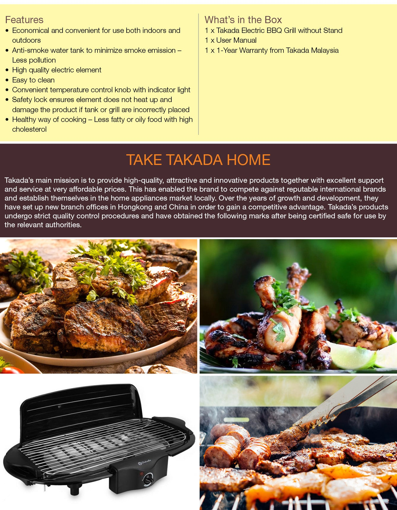 takada-isb-6038B-electric bbq-grill-without-stand