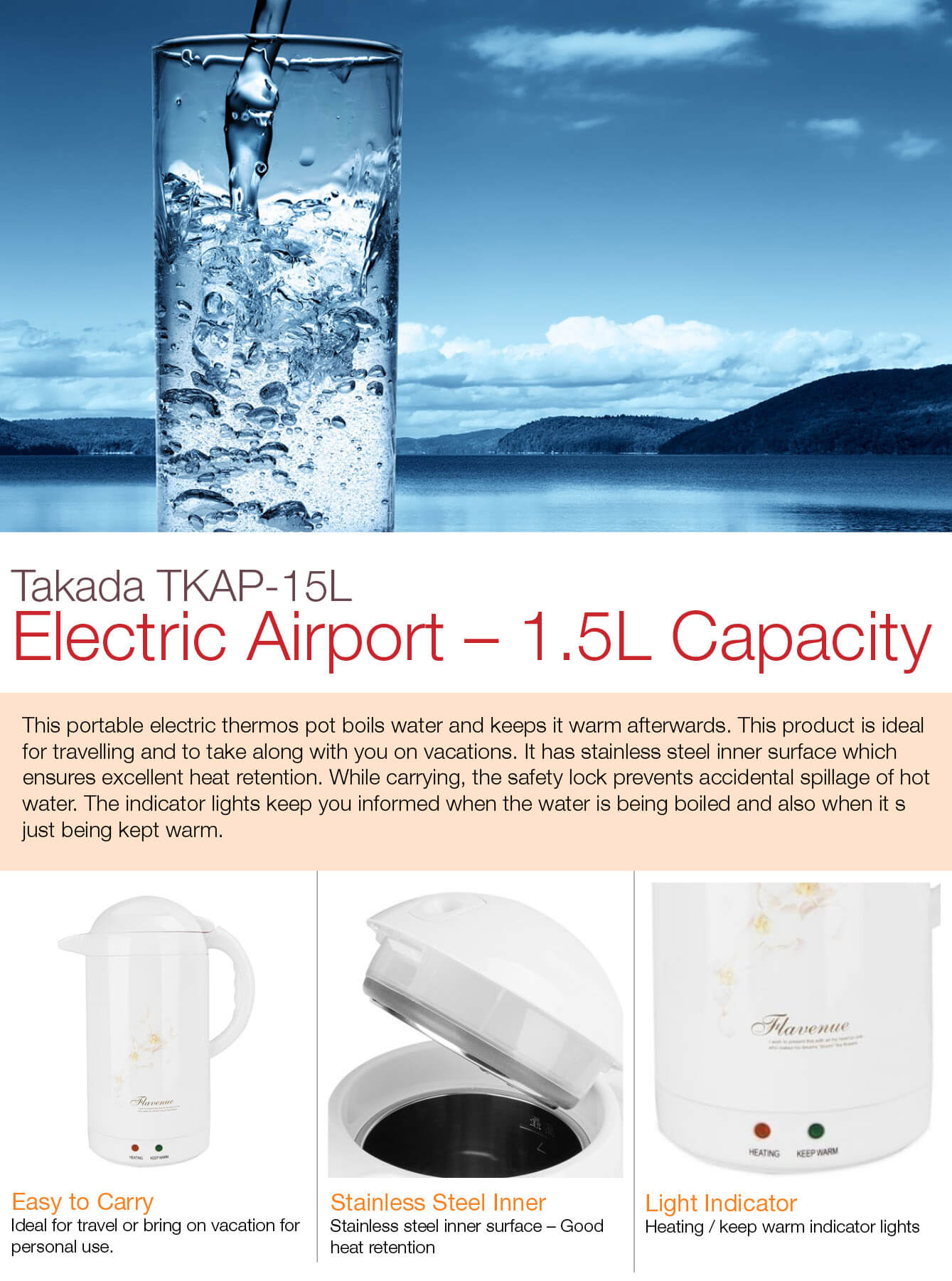 takada-tkap-15L Electric-Airpot-1.5L