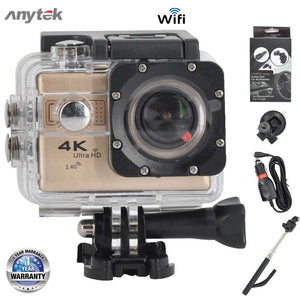 ANYTEK AC-38 Wifi Action Camera 4K | 2 Rechargeable Batteries